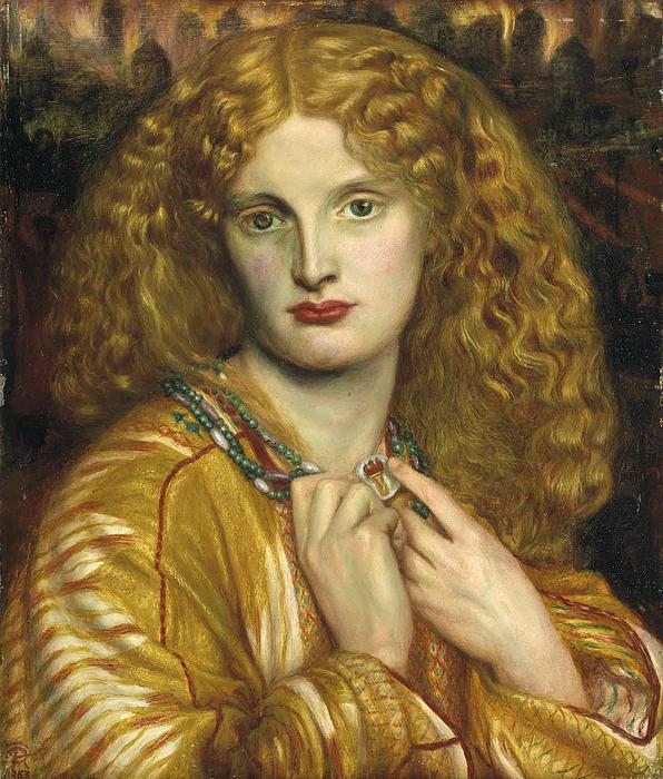 Helen Of Troy Print by Dante Gabriel Rossetti