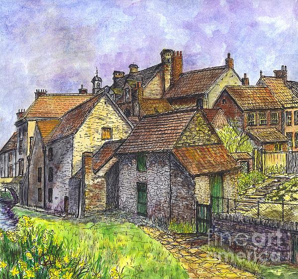 Carol Wisniewski - Helmsley Village -  in Yorkshire England