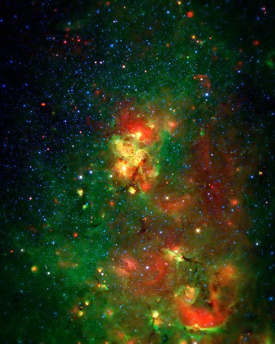 Hidden Nebula 2 Print by The  Vault - Jennifer Rondinelli Reilly