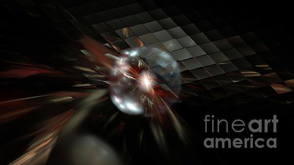 Higgs Boson Print by Peter R Nicholls