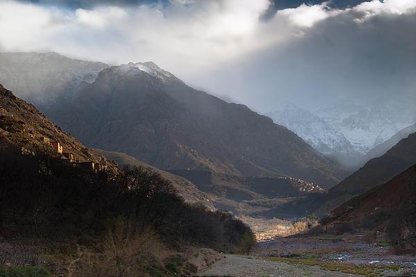 High Atlas Mountains Print by Daniel Kocian