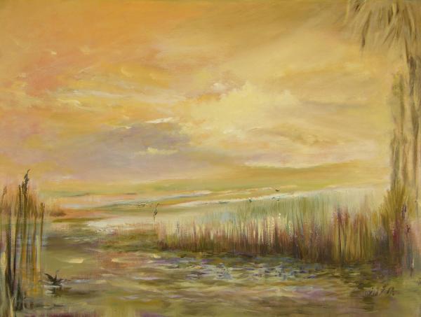 High Tide Print by Julianne Felton