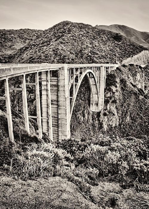 Highway 1 Print by Heather Applegate
