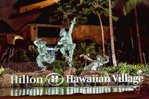 Hilton Print by Jon Burch Photography