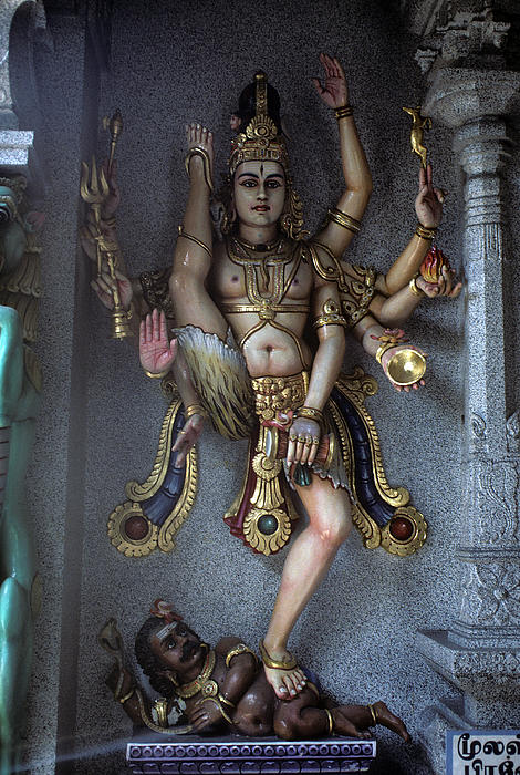 Hindu Goddess Kali Print by Carl Purcell
