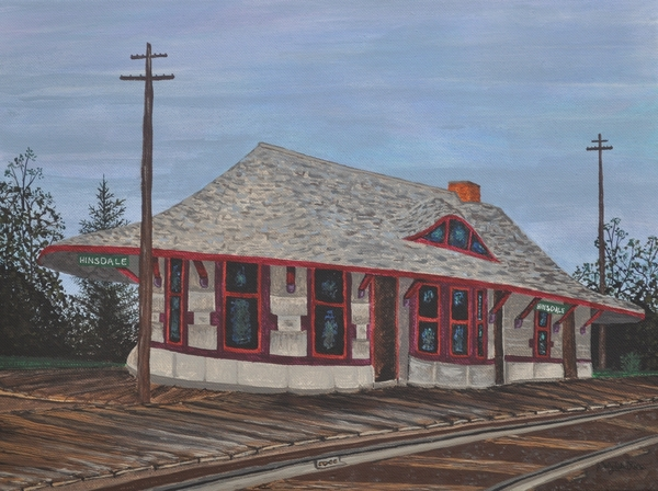 Sally Rice - Hinsdale Train Station