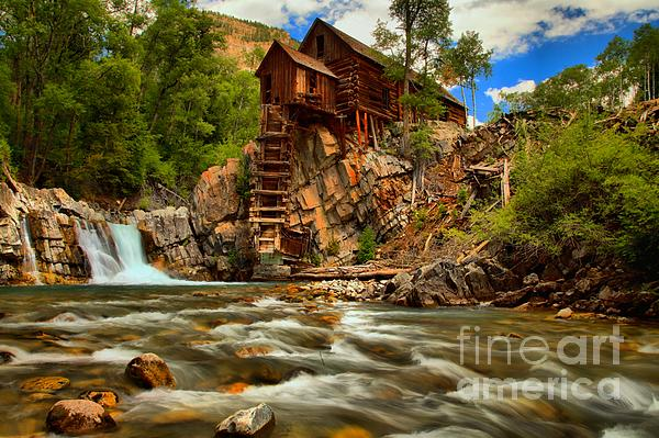 Historic Colorado Landscape Print by Adam Jewell