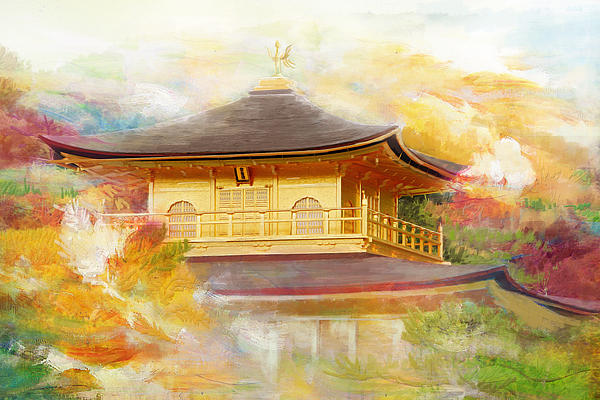 Historic Monuments Of Ancient Kyoto  Uji And Otsu Cities Print by Catf