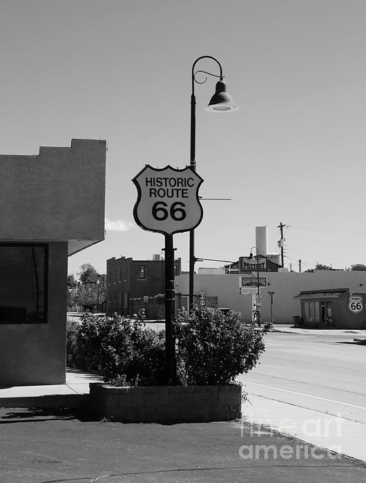 Historic Route 66 Print by Mel Steinhauer