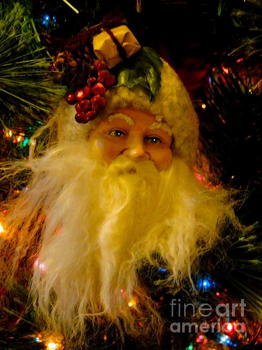 Ho Ho Ho Merry Christmas Print by Al Bourassa