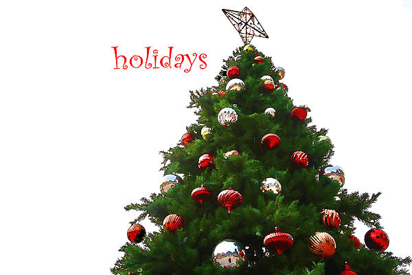 Holidays Print by Audreen Gieger-Hawkins