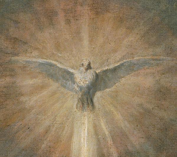 Holy Spirit Print by Diego Velazquez