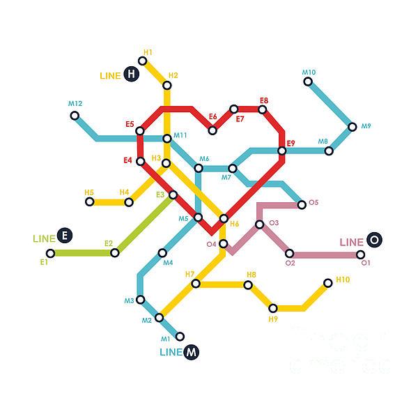 Home Where The Heart Is Print by Budi Kwan