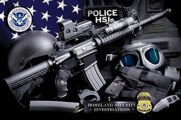 Homeland Security 1 Print by Gary Yost