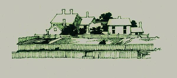 Homestead Print by Dale Michels
