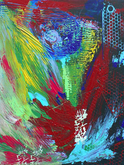 Honeycomb Print by Donna Blackhall