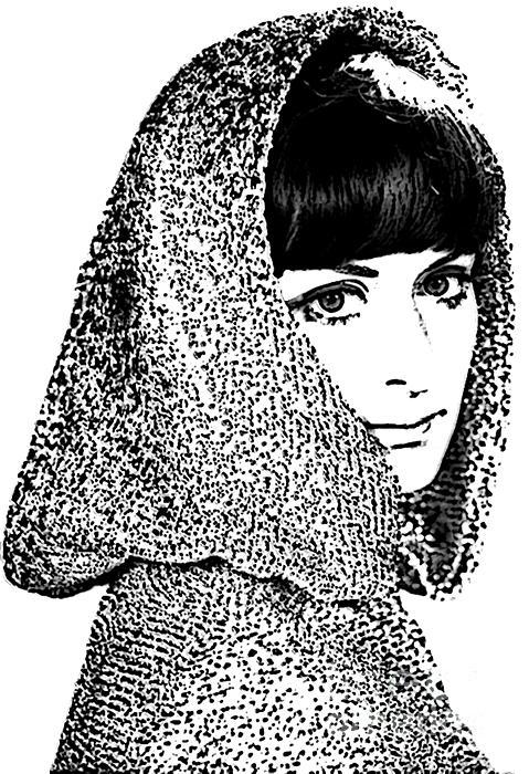 Hooded Woman Print by Andrew Govan Dantzler