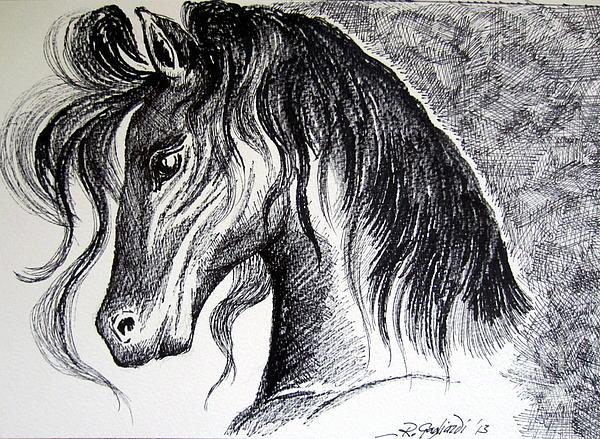 Roberto Gagliardi - Horse head 2