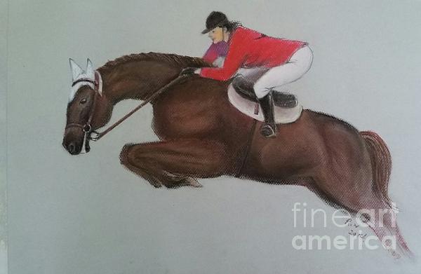 Rose Wang - Horse Jumping