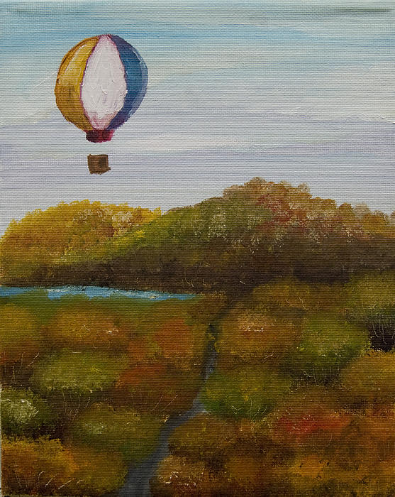 Hot Air Print by Anthony Cavins