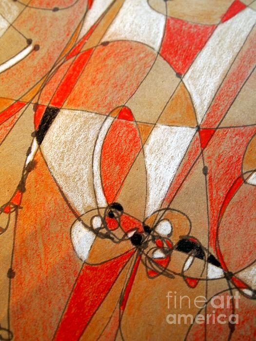 Hot Air Ballooning Print by Nancy Kane Chapman