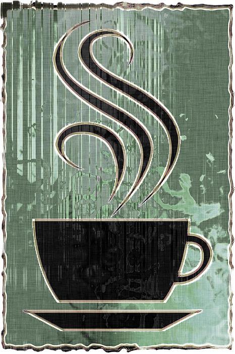 Hot Coffee Print by David G Paul