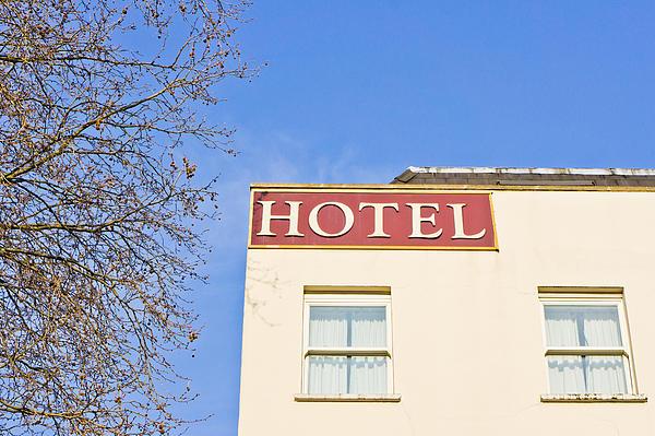 Hotel Print by Tom Gowanlock