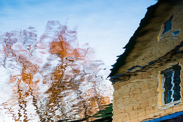 House By The Lake Print by Alexander Senin
