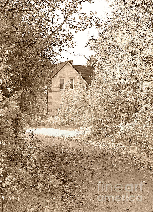 House In Autumn Print by Blink Images