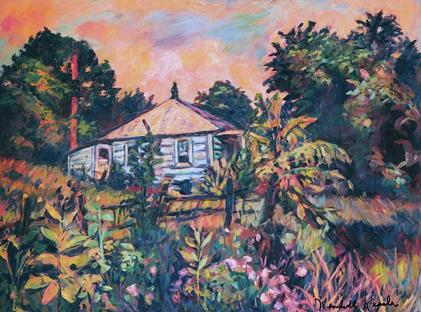 House On Route 11 Print by Kendall Kessler