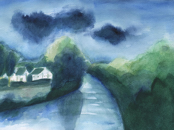 Frank Bright - Houses By The River