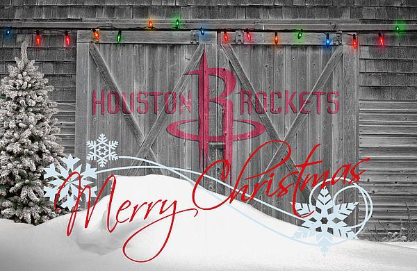 Houston Rockets Print by Joe Hamilton