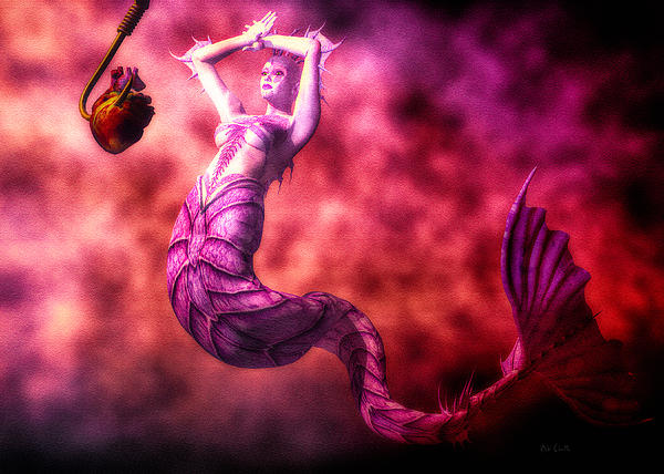 How To Catch Mermaids Print by Bob Orsillo