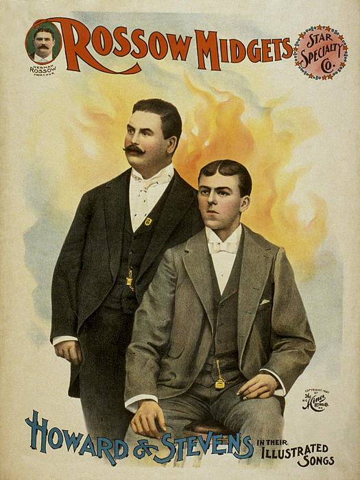 Howard And Stevens In Their Illustrated Songs Print by Aged Pixel