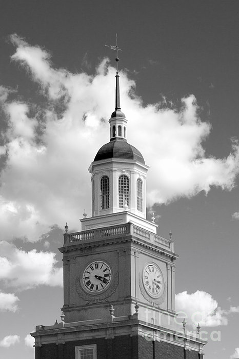 Howard University Founders Library Print by University Icons