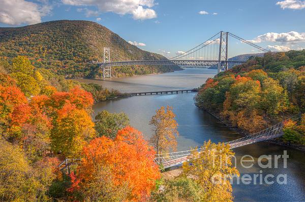 Clarence Holmes - Hudson River and Bridges