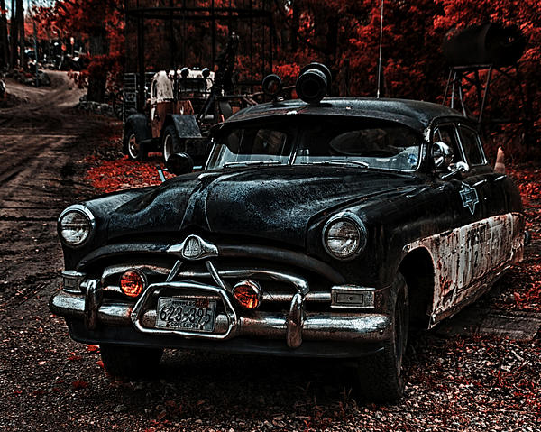 Hudson Trooper Cruzer Print by Todd and candice Dailey