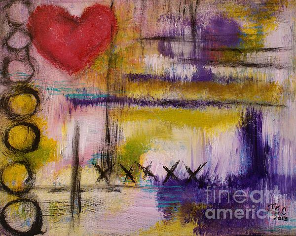 Hugs And Kisses Print by Jane Chesnut