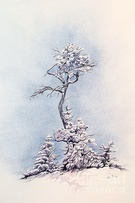 Hula Tree Print by Dan Riddle