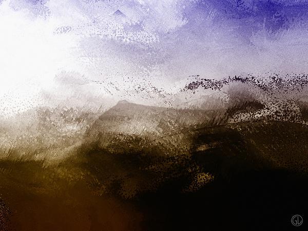Human Landscape Print by Gun Legler