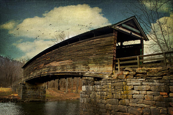 Humpback Bridge IIi Print by Kathy Jennings