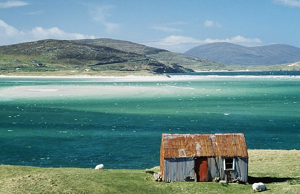 Hut On West Coast Of Isle Print by Rob Penn