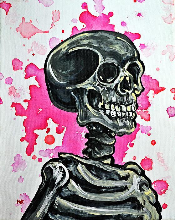 I Am Dead Inside Print by Ryno Worm  Tattoos