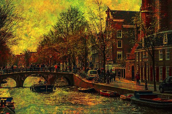 Jenny Rainbow - I AMsterdam. Vintage Amsterdam in Golden Light