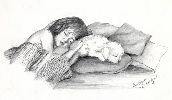 I Dont Need A Nap Mom Print by Suzanne Schaefer