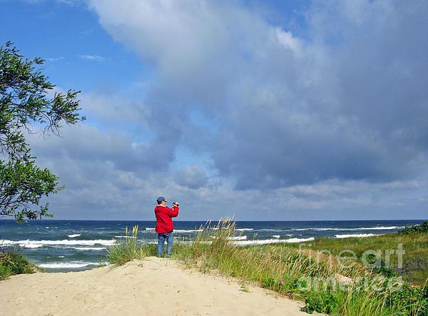 I See The Sea. Juodkrante. Lithuania Print by Ausra Paulauskaite