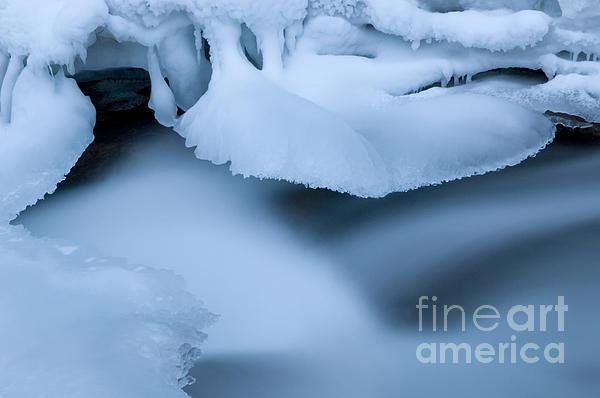 Ice 19 Print by Bob Christopher