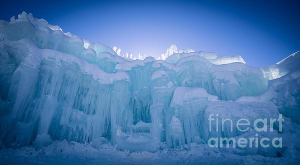 Ice Castle Print by Edward Fielding