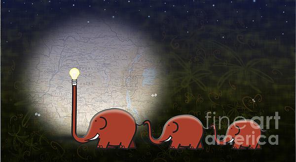 Illumination Print by Sassan Filsoof