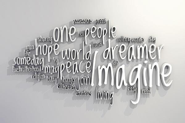 Imagine Print by Scott Norris
